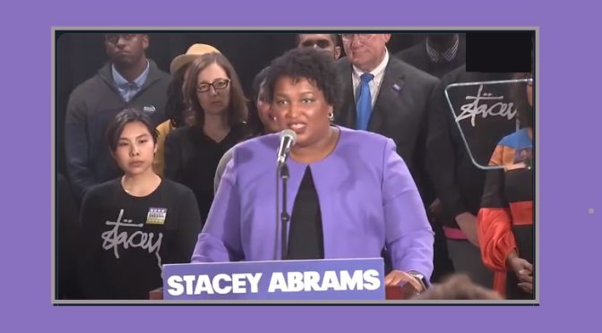 Georgia Gubernatorial Candidate Stacey Abrams Ends One Campaign, Begins Another