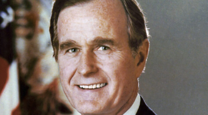 Point of Light: The Passing Of Bush 41